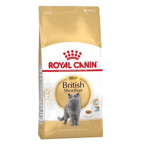 Сухой корм Роял Канин Бритиш Шортхэйр (Royal Canin British Shorthair) для котов