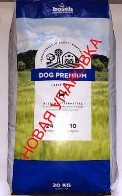 Сухой корм Бош Дог Премиум (Bosch Dog Premium) для собак средней активности, 20 кг
