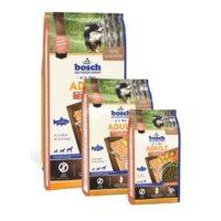 Сухой корм Бош Эдалт (Bosch Adult With Fresh Salmon & Potato) для собак, лосось и картофель