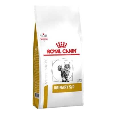 Сухой корм Роял Канин Уринари (Royal Canin URINARY S/O Feline) при заболеваниях дистального отдела мочевыделительной системы у котов