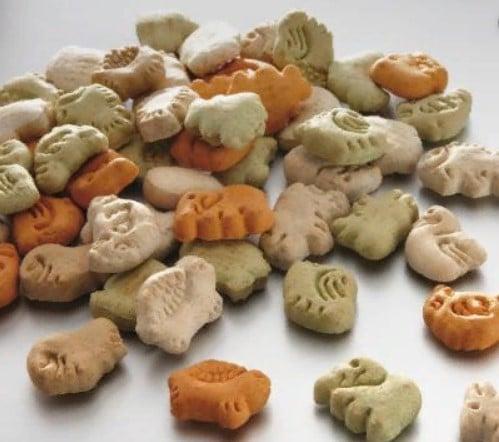 Лакомство-печенье в виде животных для собак Бош (Bosch Tierfiguren Mix),в ведре 900 кг