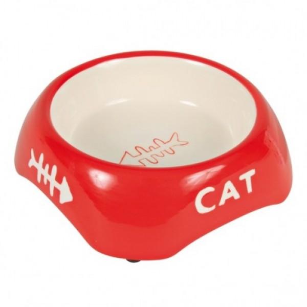 Керамическая миска для кошек с рисунком 24498 TRIXIE