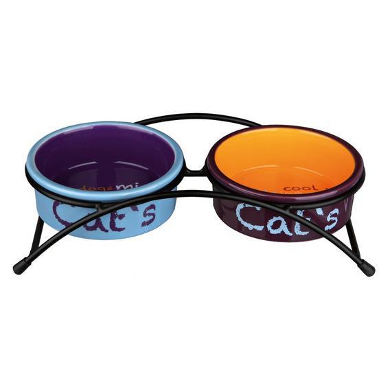 Миска «Eat on Feet» с подставкой для кошки 24791 TRIXIE