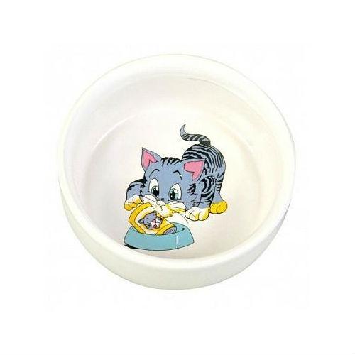 Керамическая миска для кошки с рисунком 4009 TRIXIE