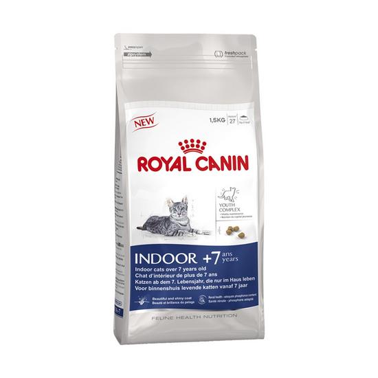 Royal Canin Indoor +7 для домашних котов старше 7 лет