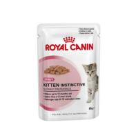 Royal Canin Kitten Instinctive для котят в возрасте от 4 до 12 месяцев.