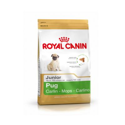 Royal Canin Pug Junior  для щенков до 10мес