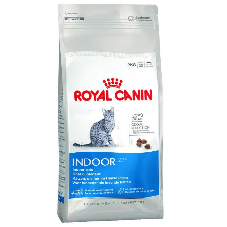 Royal Canin Indoor для малоактивных домашних кошек