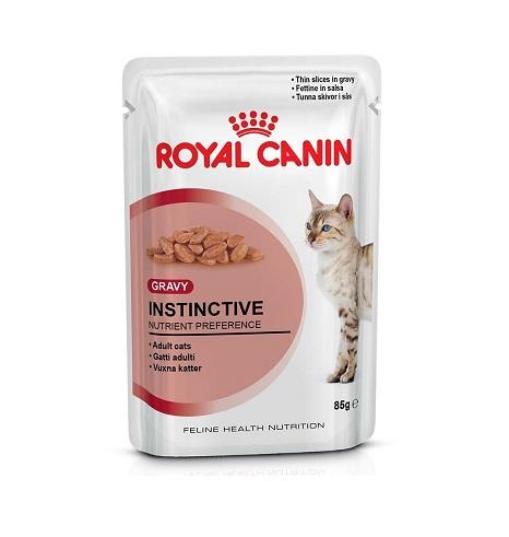 Влажный корм Royal Canin Instinctive Gravy