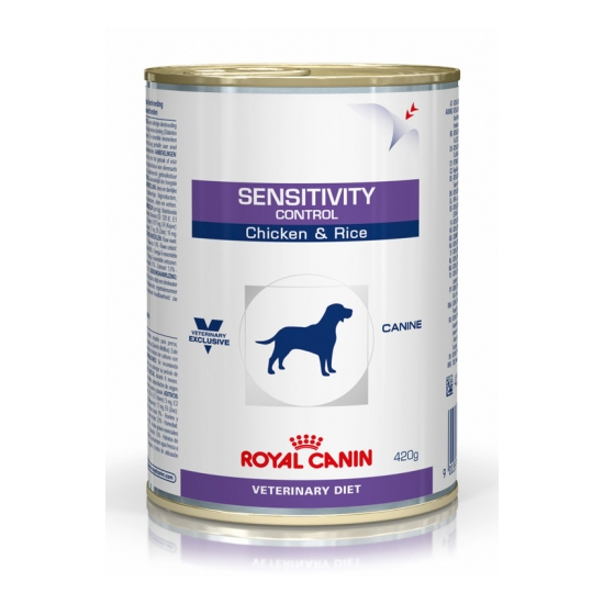 Влажный корм Sensitivity Canine Chiken & Rice Royal Canin