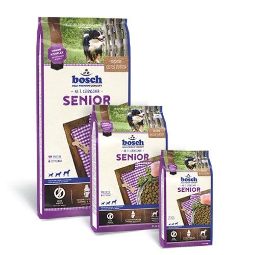 Сухой корм Бош Сеньор (Bosch Senior) для стареющих собак