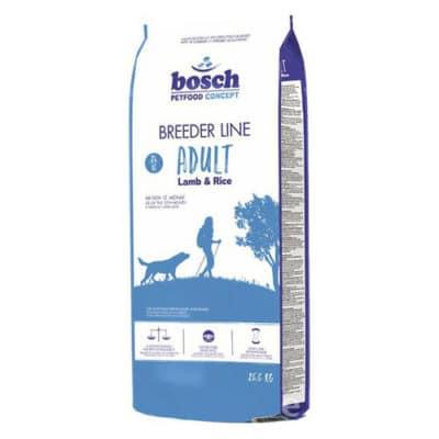 Сухой корм Бош Бридер Эдалт (Bosch Breeder Adult) для собак, с ягненком и рисом