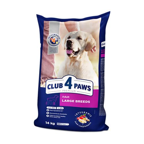 Сухой корм для собак крупных пород Клуб 4 четыре лапы (CLUB 4 PAWS PREMIUM)