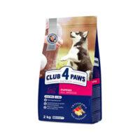 Сухой корм для щенков всех пород Клуб 4 четыре лапы (CLUB 4 PAWS PREMIUM) с курицей