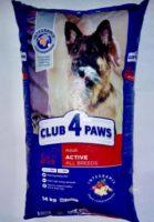 Клуб 4 Лапы Актив для собак 14кг NEW