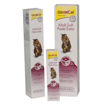 Паста для выведения шерсти Джимкет Мальт Софт Екстра (GimCat Malt-Soft Paste Extra)
