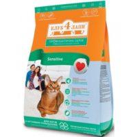 Клуб 4 лапы для кошек с чувствительным пищеварением