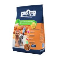 Клуб 4 Лапы корм для собак мелких пород