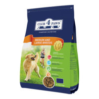 Клуб 4 Лапы корм для собак средних и крупных пород