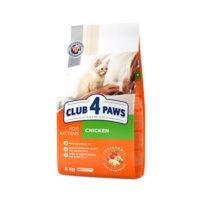 Сухой корм для котят Клуб 4 четыре лапы (CLUB 4 PAWS PREMIUM) курица