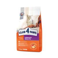 Сухой корм для взрослых котов 4 четыре лапы (CLUB 4 PAWS PREMIUM) поддержка здоровья мочеиспускательной системы