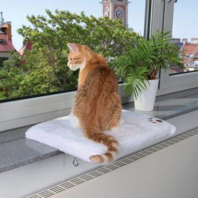 Лежак для кошки на подоконник Trixie 4328