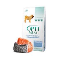 Сухой корм Оптимил (Optimeal) для средних собак, гипоаллергенный с лососем