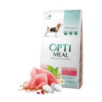 Сухой корм Оптимил (Optimeal) для собак средних пород, с индейкой