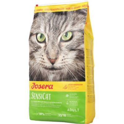 Сухой корм для кошек Йозера Сенсикет (Josera SensiCat) с чувствительным желудком, 10 кг