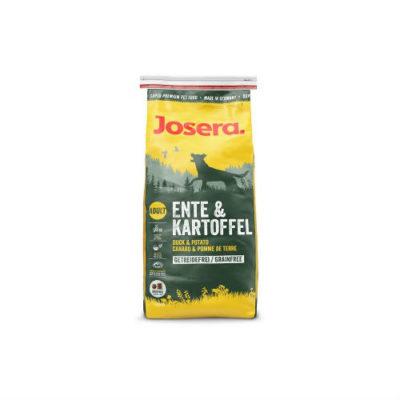 Josera Йозера Ente & Kartoffel корм без зерновых с мясом утки и картофелем 15кг