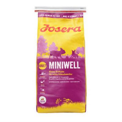 Josera Йозера Miniwell Минивель Полнорационный корм для собак малых пород