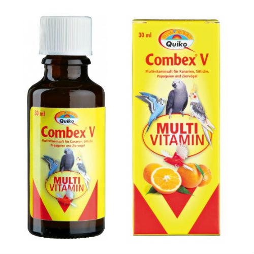 Сок-мультивитамин «Combex V» для птиц, 30мл Trixie 50651
