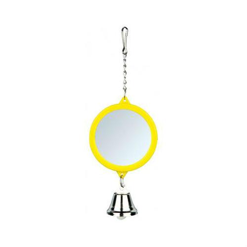 Зеркало круглое c колокольчиком Trixie 5215