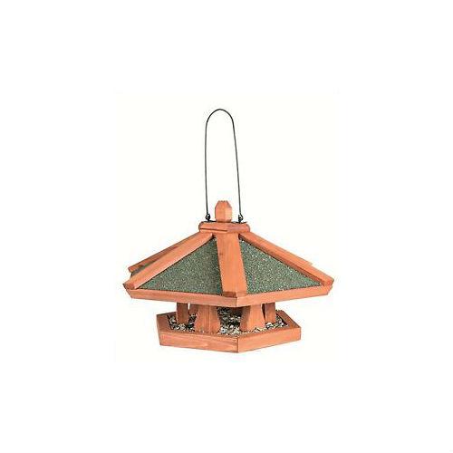 Кормушка подвесная «Natura» для птиц (дерево) 42х24см Trixie 5569