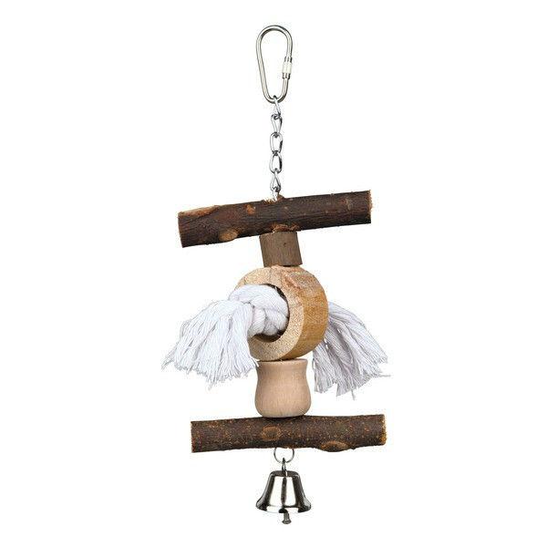 Игрушка для клетки птиц (дерево) Trixie 58962