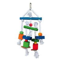 Игрушка для птиц (канат/кожа) Trixie 58985