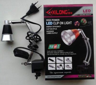 Светодиодный светильник (лампа) для аквариума Ксилонг (Xilong) LED-G3E