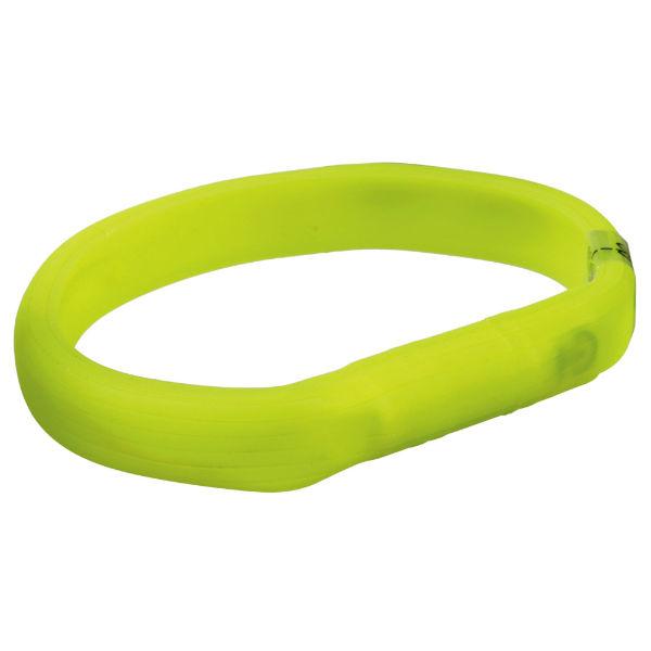Ошейник светящийся USB зеленый
