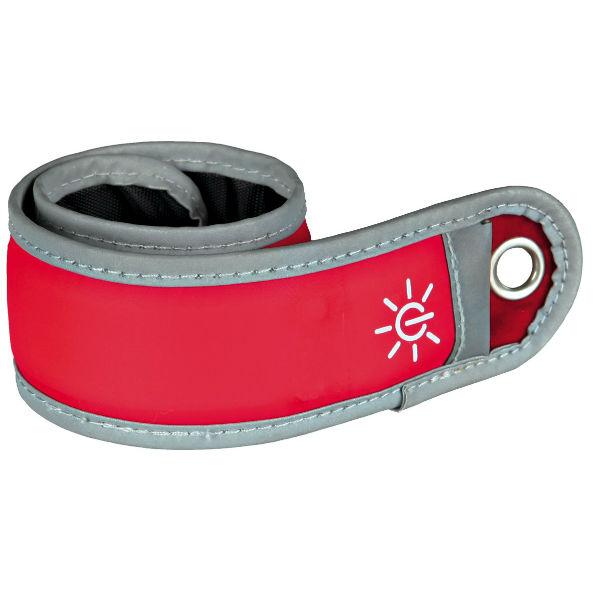 Подвеска светоотражающая для собак красная TRIXIE TX-12731