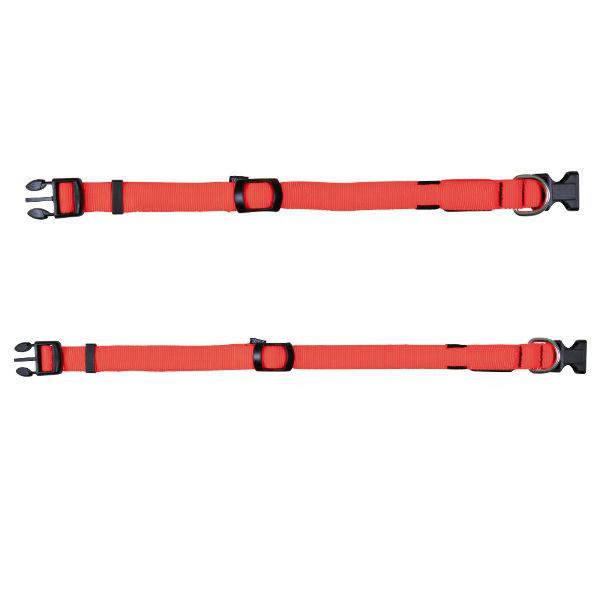 Светящийся ошейник для собак оранжевый TRIXIE TX-13062