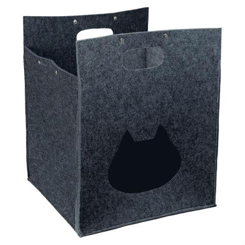 """Домик """"Antonia Cuddly Place"""" для собак и кошек TRIXIE TX 36312 серый"""