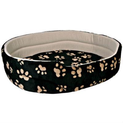 Мягкое место для собак «Charly» черный с лапками TX-37011-37016