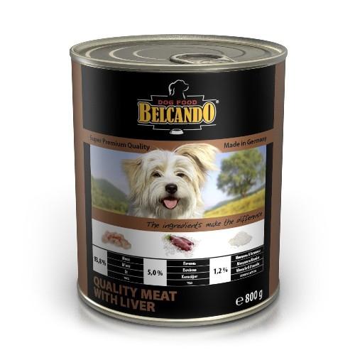 Belcando Best Quality Meat With Liver (отборное мясо с печенью), 800 г