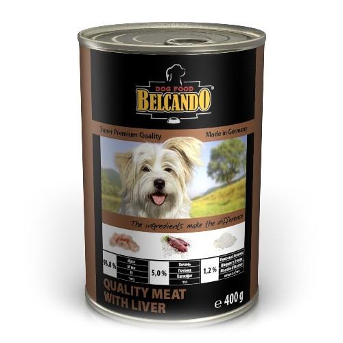 Belcando Best Quality Meat With Liver (отборное мясо с печенью), 400 г