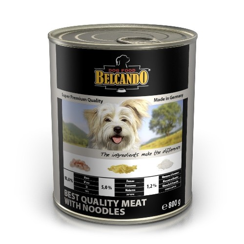 Belcando Quality Meat With Noodles (мясо с лапшой), 800 г