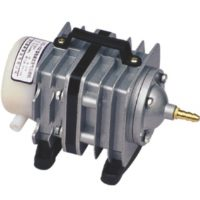 Воздушный электромагнитный компрессор SunSun ACO-002, 40 л/мин 35w