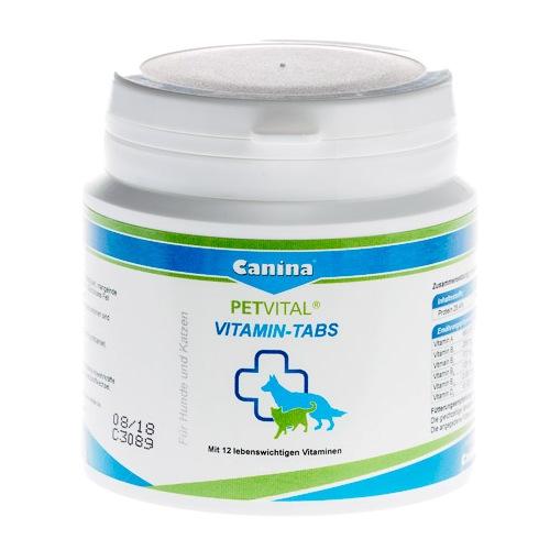 Canina PETVITAL® Vitamin-Tabs витаминная добавка для собак и кошек