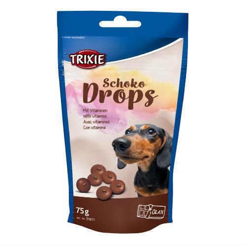 Витамины с шоколадом для собак TRIXIE TX-31611 Chocolate Drops