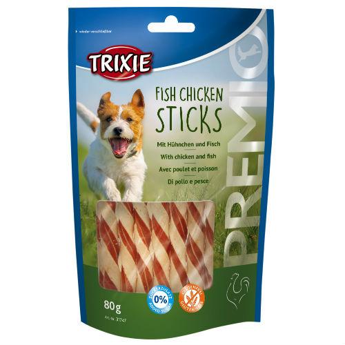 Лакомство для собак TRIXIE TX-31747 Cookie Snack Farmies с курицей и рыбой