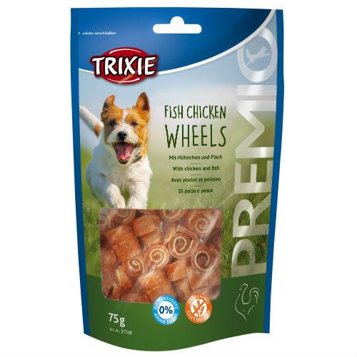 Лакомство для собак TRIXIE TX-31748 PREMIO Fish Chicken Wheels с курицей и рыбой